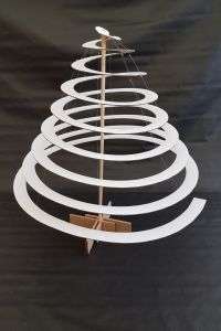 ECO XMAS TREE - white